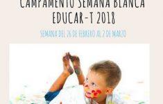 Campamento Semana Blanca Educar-t 2018
