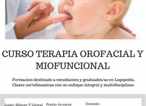 Curso Terapia Orofacial y Miofuncional. Febrero 2018